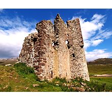 Ruin on the Loch Photographic Print