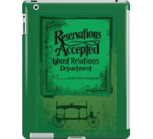 Reservations Accepted design by Topher Adam iPad Case/Skin