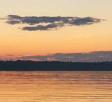 Sunset On The Bay Sticker