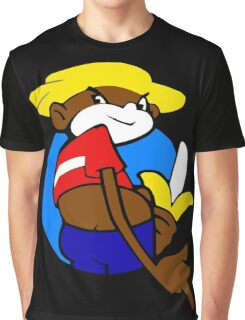 Johnny chimpo Graphic T-Shirt