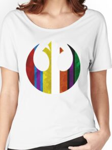 rebel alliance multicoloured Women's Relaxed Fit T-Shirt