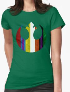 rebel alliance multicoloured Womens Fitted T-Shirt