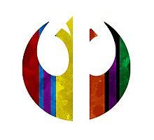 rebel alliance multicoloured Photographic Print