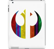 rebel alliance multicoloured iPad Case/Skin