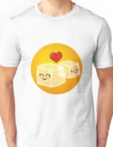 Ice cubes in love Unisex T-Shirt
