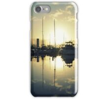 marina morning iPhone Case/Skin