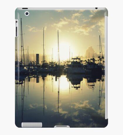 marina morning iPad Case/Skin