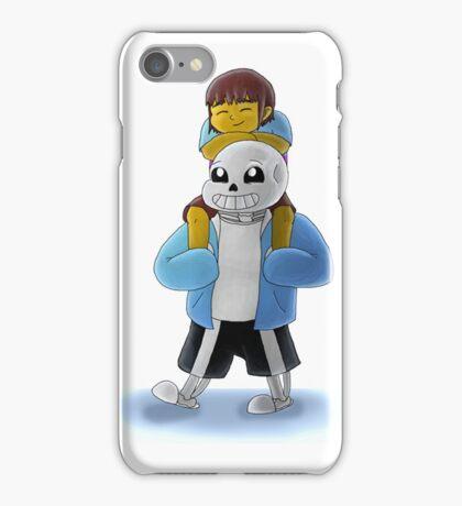 Undertale: *hang on, kiddo. iPhone Case/Skin
