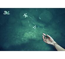 Ophelia's hand Photographic Print