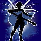 Super Smash Bros. Male Corrin Silhouette by jewlecho