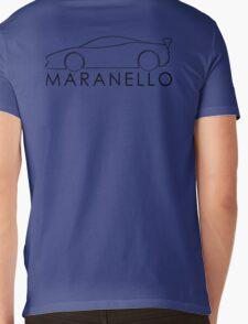 Maranello, Ferrari Mens V-Neck T-Shirt