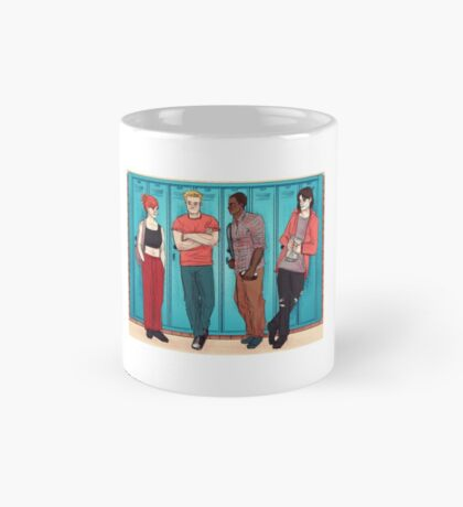 Team Cap in High School Mug Mug
