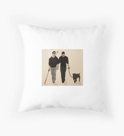 Vigilantes on a break Throw Pillow
