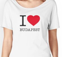 I ♥ BUDAPEST Women's Relaxed Fit T-Shirt