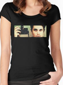John Mayer: Photographer Women's Fitted Scoop T-Shirt