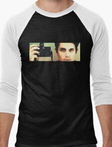 John Mayer: Photographer Men's Baseball ¾ T-Shirt