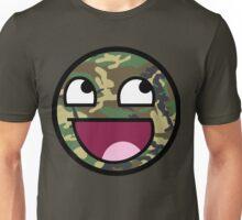 Camo meme face Unisex T-Shirt