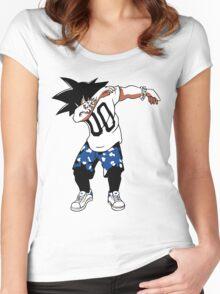 super saiyan goku dad - RB00233 Women's Fitted Scoop T-Shirt