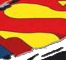 hero logos Sticker