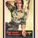 Vintage USA Army Nurse Corps 2 by SpiceTree