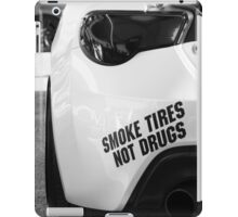 Smoke Tires iPad Case/Skin