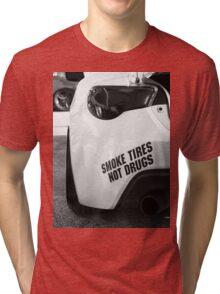 Smoke Tires Tri-blend T-Shirt