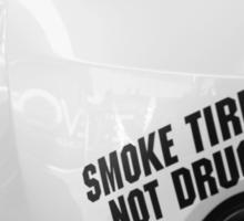 Smoke Tires Sticker