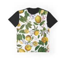 Lemon Tree - White Graphic T-Shirt