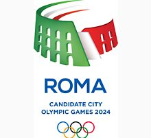 Roma 2024 Olympics games support your city ! Unisex T-Shirt