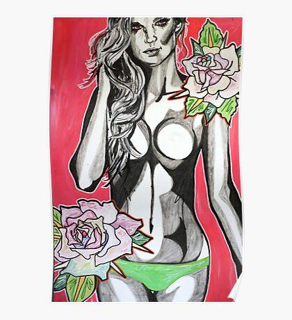 Wondering Among Roses Poster