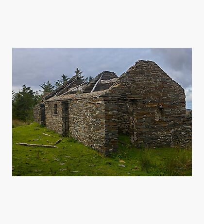 Stonework of a ruin Photographic Print