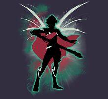 Super Smash Bros. Green Male Corrin Silhouette Unisex T-Shirt