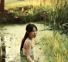 In the lake by AlexandraSophie