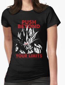 super saiyan majin vegeta shirt - RB00228 Womens Fitted T-Shirt