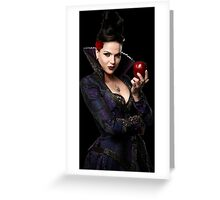 Lana Parrilla- Apple Greeting Card