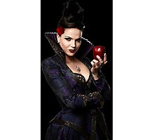 Lana Parrilla- Apple Photographic Print