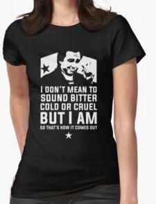 Bitter Hicks Womens Fitted T-Shirt