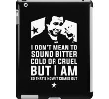 Bitter Hicks iPad Case/Skin