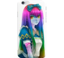 Galaxy Rainbow Girl iPhone Case/Skin