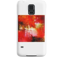 ABSTRACT IN RED Samsung Galaxy Case/Skin