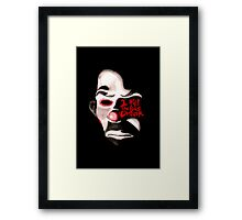 I KILL THE BUS DRIVER.  Framed Print