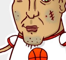 Tough basketball guy Sticker