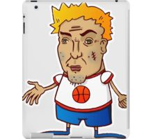 Tough basketball guy iPad Case/Skin