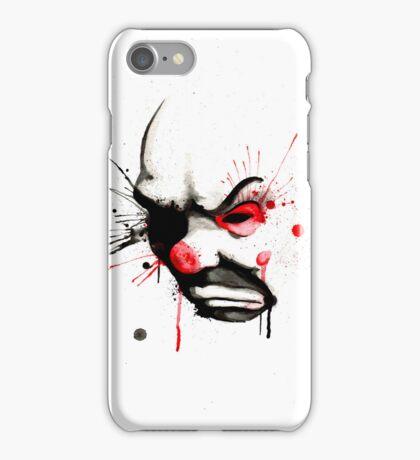 Clown Bank Robber Splatter iPhone Case/Skin