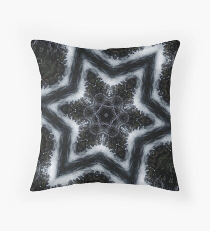 Kaleidoscope Water Throw Pillow