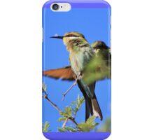 Bee-eater - African Wild Birds - Colors of Flight iPhone Case/Skin