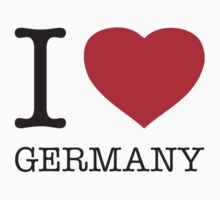I ♥ GERMANY Kids Tee