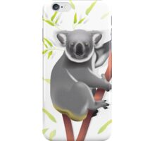 Koala in tree iPhone Case/Skin