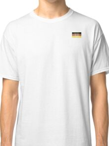 Grunge Flag Of Germany Classic T-Shirt