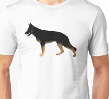 German Shepherd: Melanistic Tan & Black Unisex T-Shirt